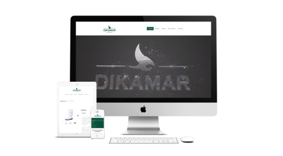 Dikamar has a new website
