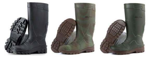 Types of Polyurethane (PU) boots for agriculture