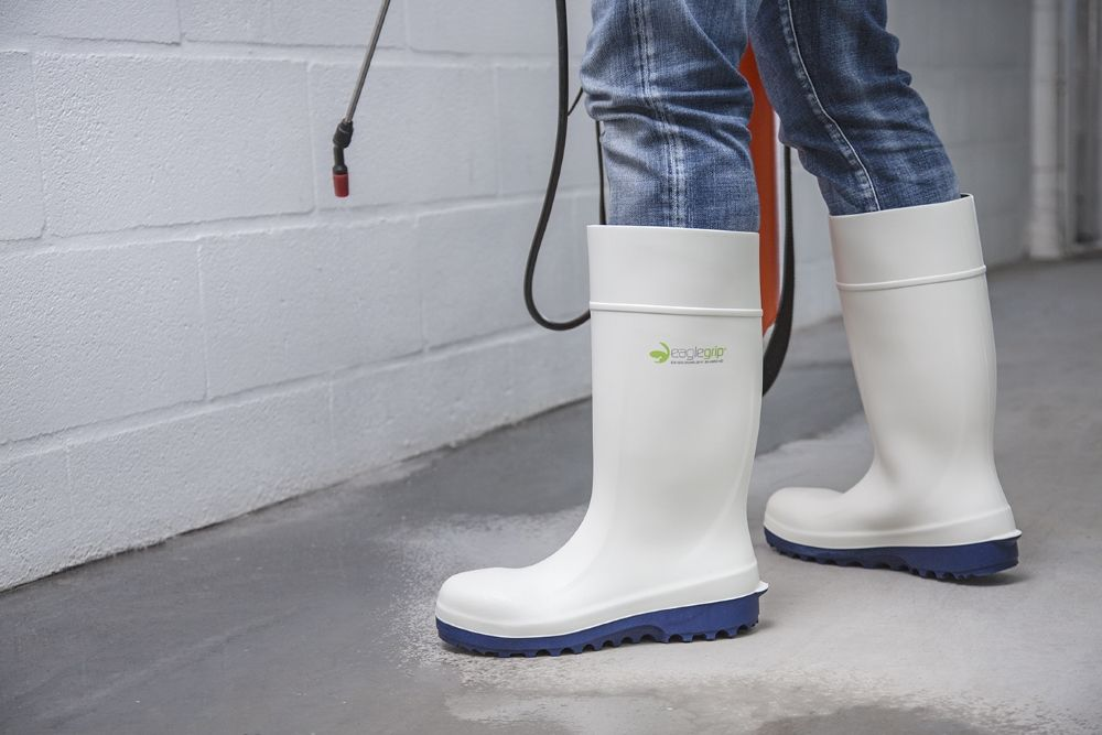 Types of Polyurethane (PU) Safety Boots for Food Industry!