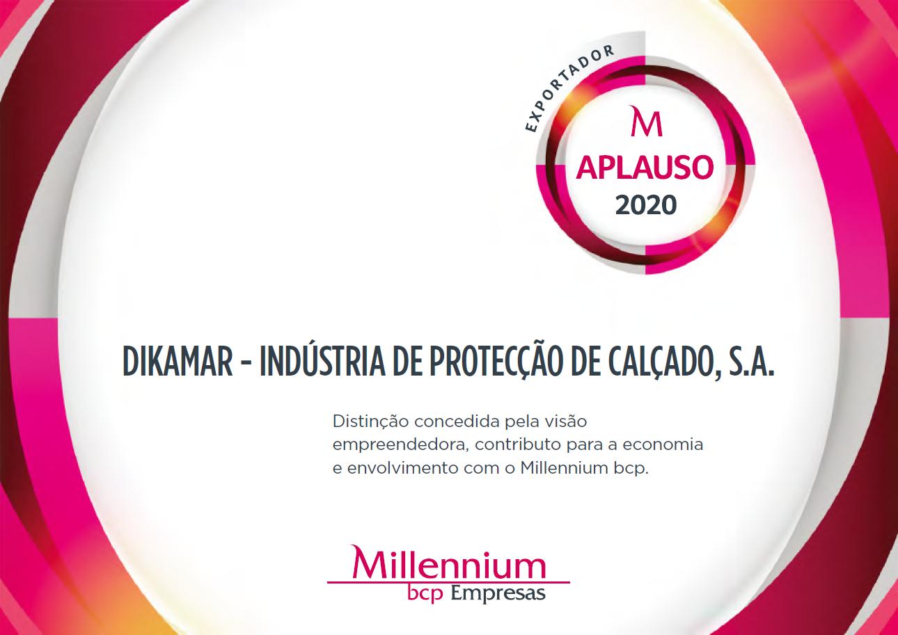 """""""Cliente Aplauso 2020"""" award"""